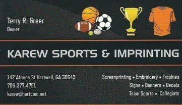Karew Sports and imprinting